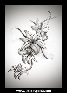 Lily my next tattoo down my side!