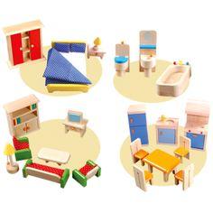 Mobília para casa de bonecas