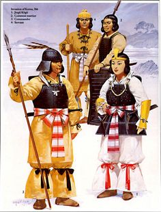 ancient clothing | Japan Ancient Japanese Clothing, Kofun (Yamato) Period (250 A.D. - 538 ...