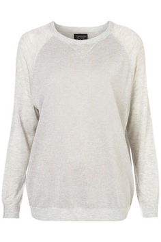Knitted Lurex Sweater #topshop