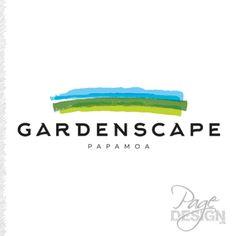 Gardenscape Papamoa, logo design, NZ