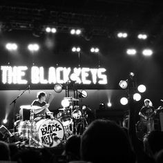 The Black Keys-wish I could have gotten a picture like this in Hartford