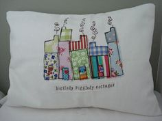 cottages pillow