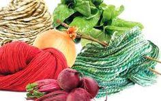 ECO-IDEAS Y RECICLAJE : TINTURAS NATURALES. Lana, Diy And Crafts, Tie Dye, Pumpkin, Hair Styles, Fabric, Color Beige, Beauty, Shibori