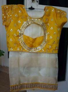 beautiful #Saree choli blouse