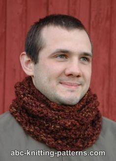 ABC Knitting Patterns - One-Hour Cowl