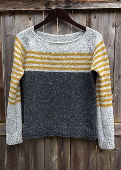 Knitting Patterns Sweaters Ravelry: Project Gallery for ravello pattern by Isabell Kraemer Sweater Knitting Patterns, Coat Patterns, Knitting Designs, Free Knitting, Knitting Projects, Crochet Patterns, Diy Pullover, Color Block Sweater, Pulls