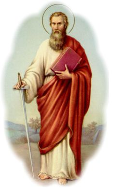 138 best apostle st paul images on pinterest christianity traditional prayer card of st paul fandeluxe Choice Image