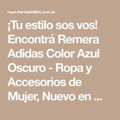 Encontrá Remera Adidas Color Azul Oscuro - Ropa y Accesorios d7f55f965d3