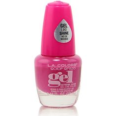 L.A. Colors Extreme Shine Gel Nail Polish (CNP713 Vixen) ** Continue to the product at the image link. (This is an affiliate link) #NailPolish