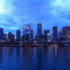 Seattle from Bainbridge Island