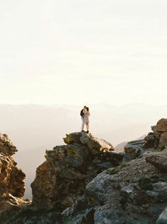 Thrilling Rocky Mountain National Park Engagement Photos