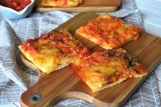 Pizza Margherita - Retete culinare by Teo's Kitchen Lidl, Quiche, Cauliflower, Pizza, Cheese, Vegetables, Breakfast, Food, Kitchen