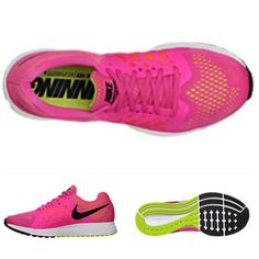 6647bc8a70b7b Nike Air Zoom Pegasus 31 Running Shoe Hyper Pink   Volt   Black Comfortable  active walking shoes