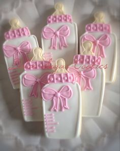 Baby Bottle Girl Cookies