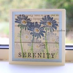 Serenity created with shadow inks