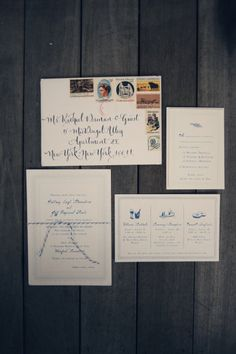 I like the idea of the card that lists the events    Photography by Carla Ten Eyck Photography / carlateneyck.com/, Event Planning by Jubilee Events / eventjubilee.com, Floral Design by Just For You Floral Design / justforyouweddings.com/