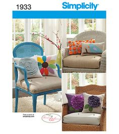 Simplicity Pattern Home Decorating One Size: Home Decor Patterns: sewing patterns: fabric: Shop | Joann.com