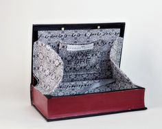 Hollowed book clutch. Looks even cooler than the other book purses I have pinned. May have to try this one of these days