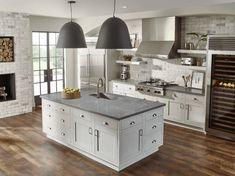 Zodiaq Concrete Carrara Kitchen OA