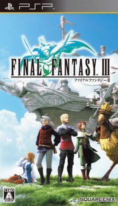 I can't remember when I played Final Fantasy III. I know it was some time after Final Fantasy I and II. But did I play it before Final Fantasy V … Final Fantasy 3, Playstation Portable, Playstation Games, Videogames, Story Sequencing, Video Game Names, Retro Videos, Nintendo Ds, Super Nintendo