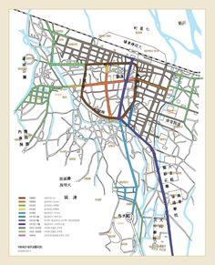 1924 Daegu Map