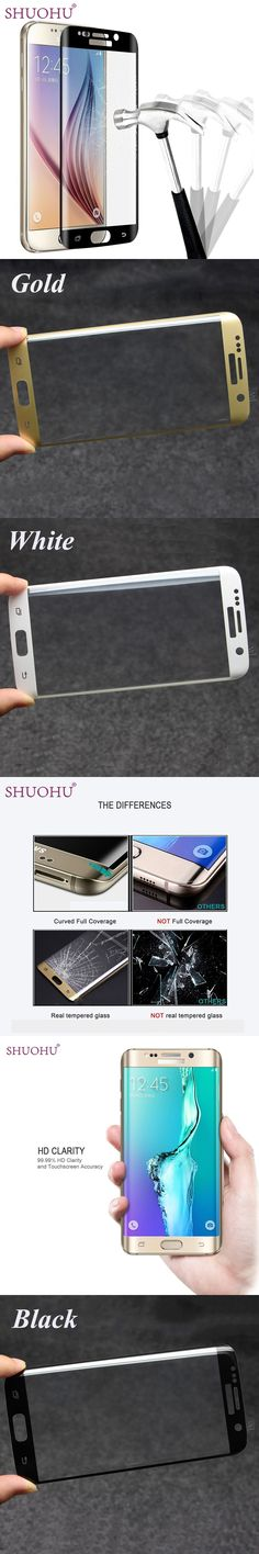 360 Degree 3D Cover High Clear Toughened Tempered Glass Screen Protector For Samsung Galaxy S6 Edge/S6 Edge Plus/S7 edge
