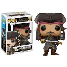 Pirates of the Caribbean Jack Sparrow Pop! Vinyl Figure from Funko. Perfect for any Company_Funko Product Type_Pop! Vinyl Figures Theme_Pirates of the Caribbean fan! Disney Pop, Disney Pixar, Disney Time, Funk Pop, Figurine Disney, Pop Figurine, Pop Vinyl Figures, Pop Figures Disney, Disneysea Tokyo