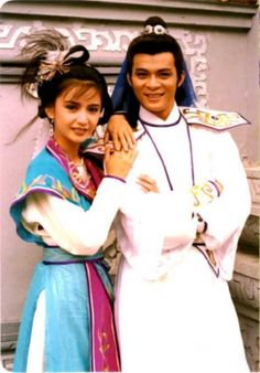 Felix Wong & Margie Tsang (The Grand Canal Asian Celebrities, Asian Actors, Hong Kong Celebrity, Hong Kong Movie, Kung Fu Movies, Chinese Movies, Korean Dress, Grand Canal, Drama Series