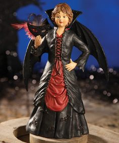 Look what I found on #zulily! Batty Girl Figurine #zulilyfinds