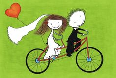 ..bicycle.. original illustration by Anna Dyczka from $1.45