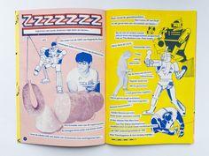 Wobby #5, Risograph printed magazine. Image Jeroen de Leijer, words by Didi de Paris.