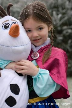 Frozen birthday photo session. So perfect