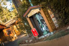 Charge up at Cedar Glen Lodge! #greenhotels #northlake #tahoe #tesla #electricchargingstation Heated Pool, Cozy Cottage, Lake View, Acre, Cabin, Rustic, House Styles, Outdoor, Home Decor