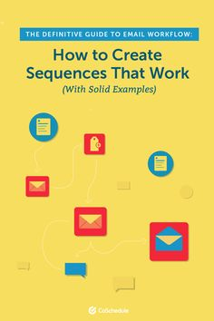 The Definitive Guide To Email Workflow: How to Create Sequences That Work (With Solid Examples) Content Marketing Strategy, Marketing Software, Marketing Tools, Marketing Calendar, Business Tips, Helpful Hints, Create, Useful Tips, Handy Tips