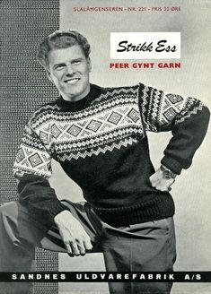 Bilderesultat for ol genser 1952 Norwegian Flag, Norwegian Knitting, Nordic Sweater, Men Sweater, Fair Isle Knitting, Hand Knitting, Vintage Jumper, Fashion Forecasting, Flag Colors