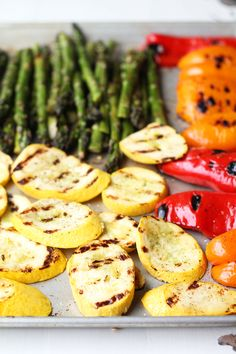 Balsamic Marinated Grilled Vegetable Platter recipe