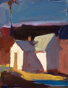 "startfromwhereyouare:                Dana Hooper  ""Simple House""  14X11                oil on canvas"