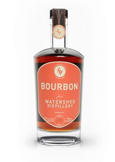 Bourbon from Watershed Distillery is made in small batches using a combination of Corn, Wheat, Rye and Spelt.