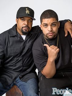 Why Ice Cube's Look-Alike Son Still Had to Audition to Play His Dad in Straight…