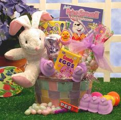 Egg streme sports easter gift basket for boys ages 6 9 years old send your love with the bunny love easter gift basket perfect for both boys and girls this pretty pastel basket carries sweets and treats that will convey negle Choice Image