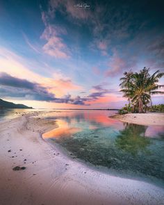 A splash of colour in Bora Bora, the ultimate beach holiday? Photo by Explore. Beautiful Sky, Beautiful Islands, Beautiful Beaches, Beautiful World, Beautiful Scenery, Beautiful Pictures, Lightroom, Photoshop, The Beach