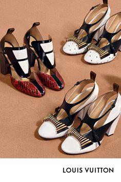 factory price e2bdd 030d0 Louis Vuitton Women s 2018 Fall-Winter Campaign
