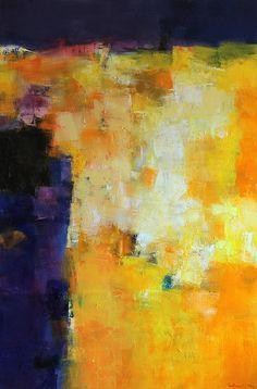 October 2014 - 3 - Original Abstract Oil Painting - 60.6 cm x 91.0 cm (app. 24…