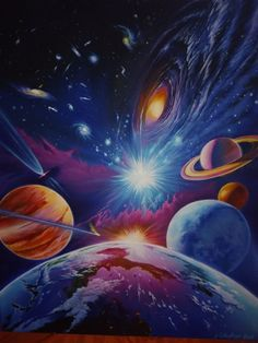 7 Painting Ideas For Home Decor – Painting Step By Step - Star Art, Galaxy Painting, Galaxy Art, Planets Wallpaper, Galaxy Wallpaper, Chef D Oeuvre, Step By Step Painting, Diy Canvas Art, Pastel Art, Star Art