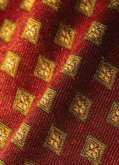 Pattern 02003 in Crimson. Trend Fabrics, Tapestries, Fabric Decor, Needlepoint, Branding Design, Weaving, Textiles, Buttons, Embroidery