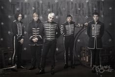 My Chemical Romance,The Black Parade uniforms - Coleen Atwood