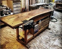 3 Prosperous Cool Tips: Woodworking Storage Fun woodworking joinery carpentry.Wood Working Ideas Tips wooden woodworking plans. Woodworking Basics, Woodworking Workbench, Woodworking Workshop, Fine Woodworking, Woodworking Projects Plans, Custom Woodworking, Workbench Designs, Workbench Ideas, Garage Workbench