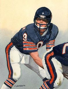 Bears QB Jim McMahon 2007 by G.T. Johnson II