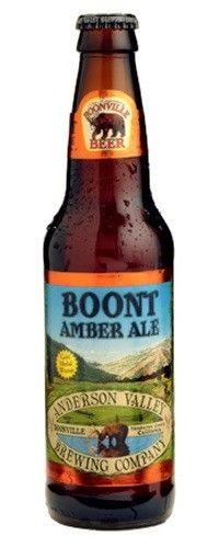 Cerveja Anderson Valley Boont Amber Ale, estilo American Amber Ale, produzida por Anderson Valley , Estados Unidos. 5.8% ABV de álcool.